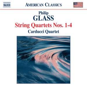 Glass - String Quartets Nos. 1-4 Product Image