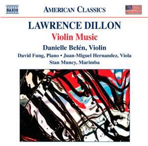 Lawrence Dillon: Violin Music Product Image
