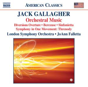 Jack Gallagher: Orchestral Music Product Image
