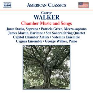 George Walker: Chamber Music and Songs Product Image