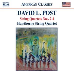 David Post: String Quartet Nos. 2-4