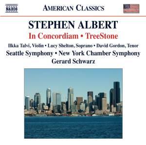 Stephen Albert: In Concordiam & TreeStone Product Image