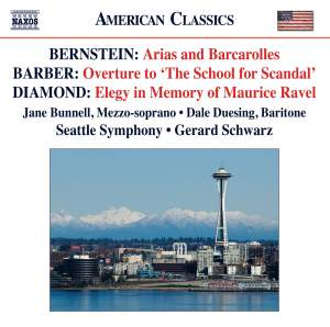 Bernstein: Arias and Barcarolles Product Image