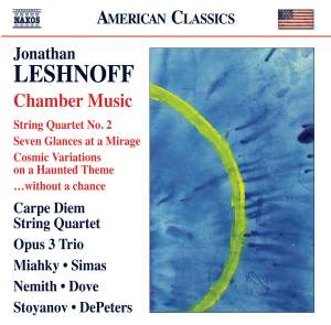 Jonathan Leshnoff: Chamber Music Product Image