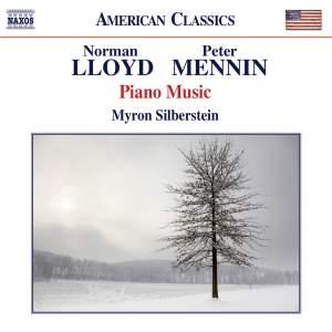 Norman Lloyd & Peter Mennin: Piano Music