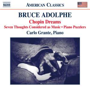 Bruce Adolphe: Piano Music Product Image