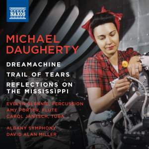 Michael Daugherty: Dreamachine, Trail of Tears & Reflections on the Mississippi Product Image