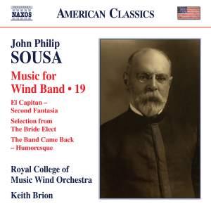 Sousa: Wind Band Music, Vol. 19