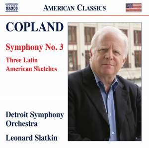 Copland: Symphony No. 3 & Three Latin American Sketches Product Image