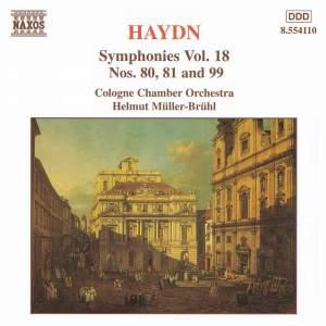 Haydn - Symphonies Volume 18 Product Image