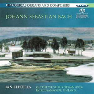 Historical Organs and Composers Vol. 1: JS Bach
