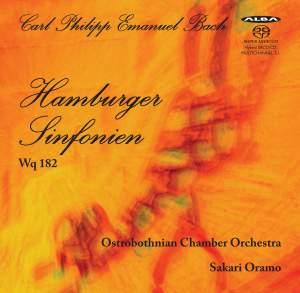 Bach, C P E: Hamburg Symphonies (6) for Strings, Wq. 182 (H657-662) Product Image