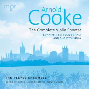 Arnold Cooke: The Complete Violin Sonatas Product Image