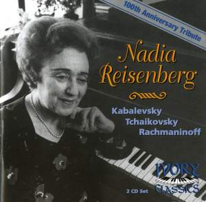 Nadia Reisenberg - 100th Anniversary Tribute