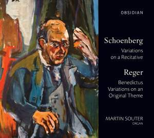 Martin Souter plays Schoenberg & Reger Product Image
