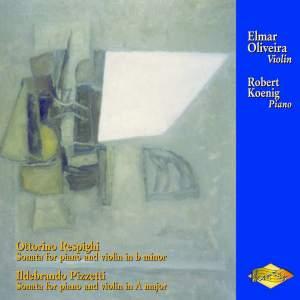 Respighi & Pizzetti: Violin Sonatas Product Image