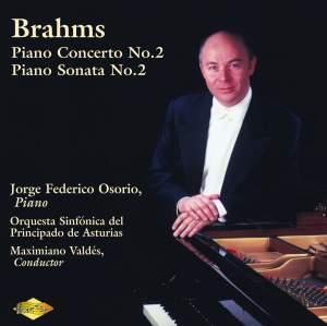 Brahms: Piano Concerto No. 2 & Piano Sonata No. 2 Product Image