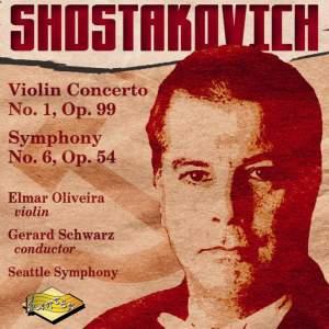 Shostakovich: Violin Concerto No. 1 & Symphony No. 6 Product Image