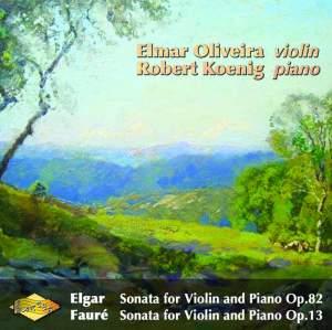 Elgar & Fauré: Violin Sonatas Product Image