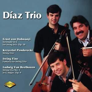 Dohnányi, Penderecki, Fine & Beethoven: String Trios Product Image