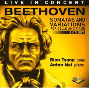 Beethoven: Sonatas and Variations for Cello and Piano Product Image