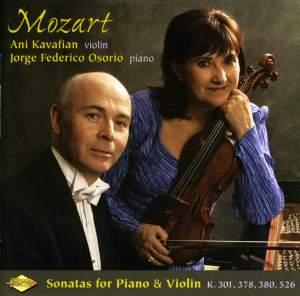 Mozart: Violin Sonatas, K301, K378, K380 & K526 Product Image