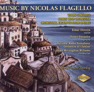 Music by Nicolas Flagello Product Image