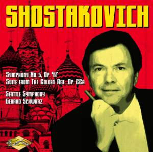 Shostakovich: Symphony No. 5 & The Golden Age Suite Product Image