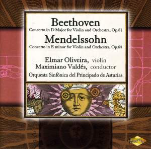 Beethoven & Mendelssohn: Violin Concertos Product Image