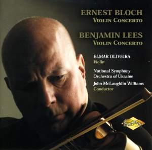 Ernest Bloch & Benjamin Lees: Violin Concertos Product Image