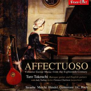 Affectuoso: Virtuoso Guitar Music from the Eighteenth Century