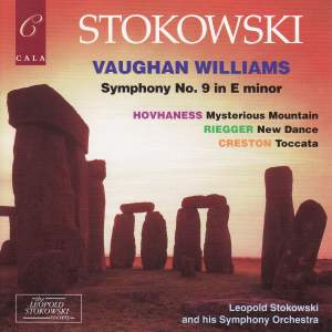 Vaughan Williams, Riegger, Hovhaness & Creston: Symphonic Works