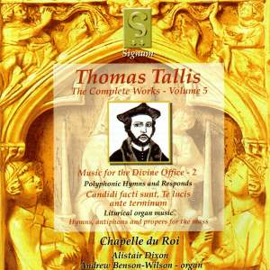 Thomas Tallis - Complete Works Volume 5