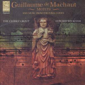 Motets by Guillaume de Machaut Product Image