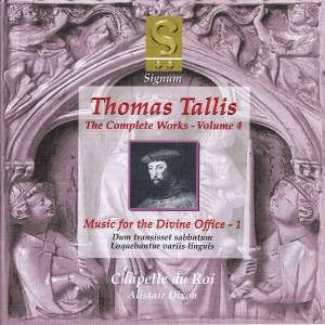 Thomas Tallis - Complete Works Volume 4