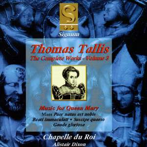 Thomas Tallis - Complete Works Volume 3