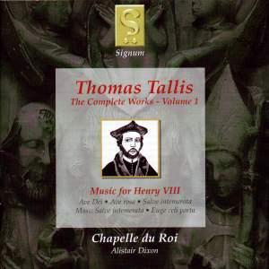 Thomas Tallis - Complete Works Volume 1