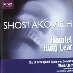 Shostakovich: Hamlet & King Lear Incidental Music