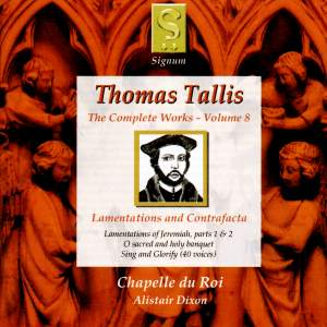 Thomas Tallis - Complete Works Volume 8