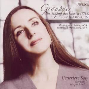 Graupner - Partitas for Harpsichord Volume 4