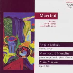 Martinu: Sonatas, Promenades, Madrigal Stanzas Product Image