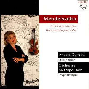Mendelssohn: Two Violin Concertos Product Image