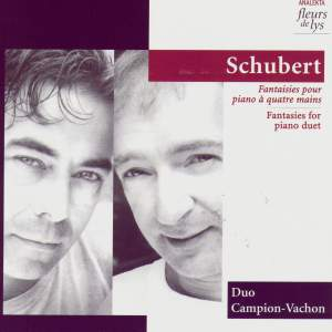 Schubert: Fantasies for piano duet Product Image