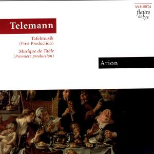 Telemann: Tafelmusik (First Production) Product Image