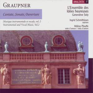 Graupner: Cantate, Sonate, Ouverture Volume 2 Product Image