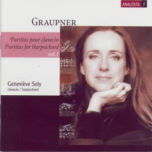 Graupner - Partitas for Harpsichord Volume 1
