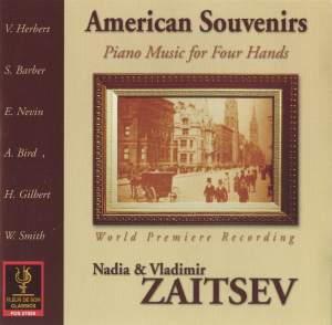 American Souvenirs: Piano Music for Four Hands
