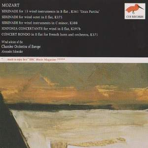 Mozart: Works for chamber orchestra