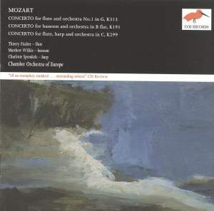 Mozart: Concertos for flute, bassoon and flute & harp