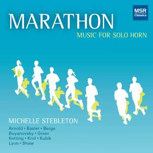 Marathon: Music for Horn Solo Product Image